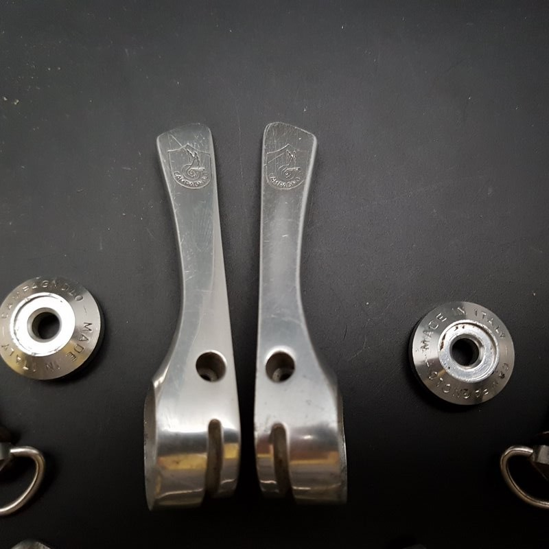 """Levers of speed """"CAMPAGNOLO C-RECORD"""" (Ref 476)"""