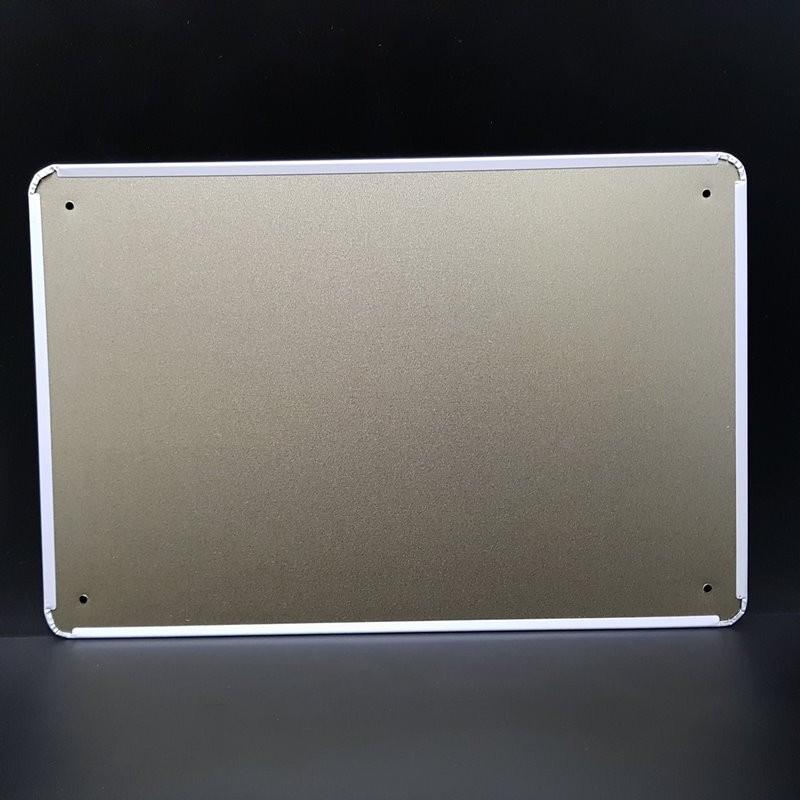 "Plaque métal décorative ""CAMPAGNOLO"" (Ref 05)"