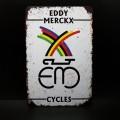"""Plaque métal décorative """"EDDY MERCKX"""" (Ref 06)"""
