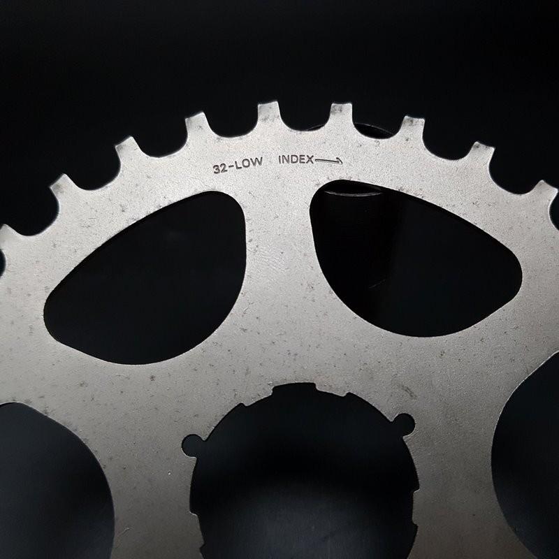 """Sprocket N. O. S Steel """"SHIMANO DURA ACE/600 UG"""" 32 teeth"""