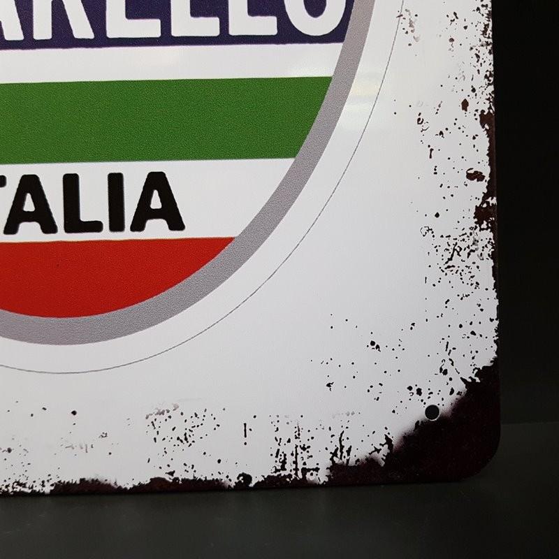 """Piastra di metallo decorativo """"PINARELLO"""" (Rif 16)"""