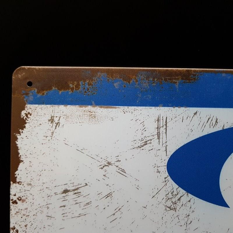 """Plaque métal décorative """"SACHS"""" (Ref 22)"""