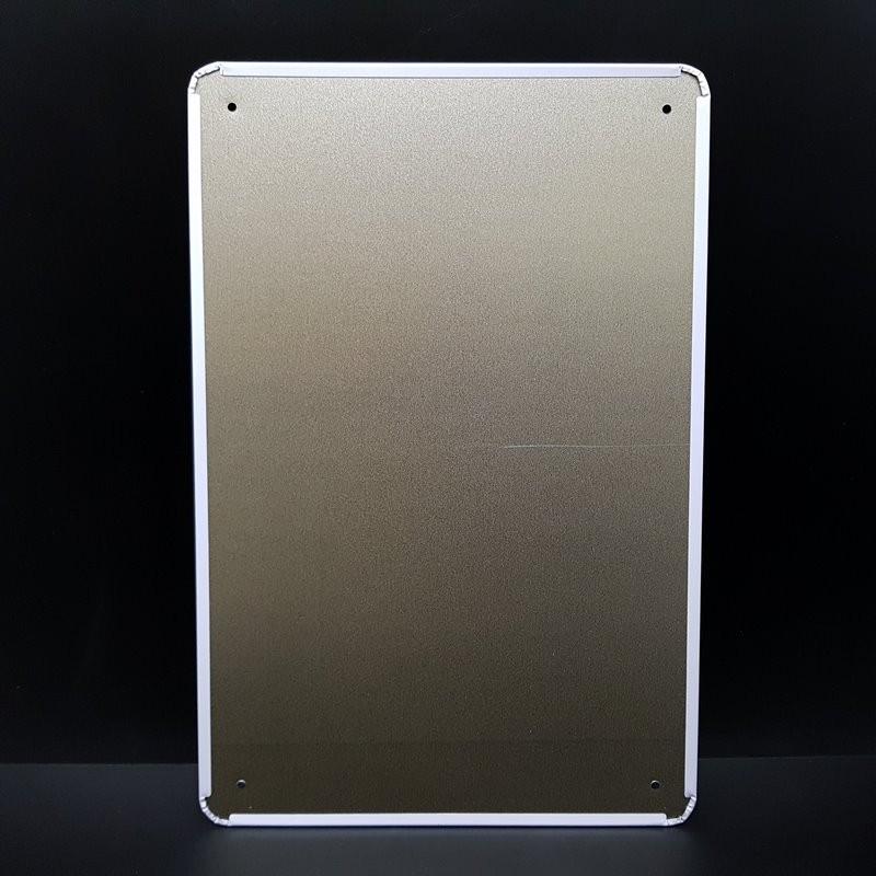 """Plaque métal décorative """"RALEIGH"""" (Ref 19)"""