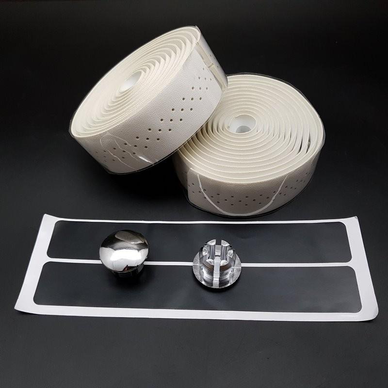 La cinta Blanco de estilo de Cuero perforado (Ref 28)