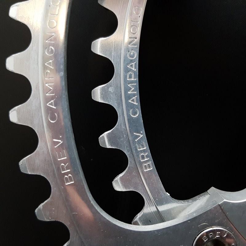 "Pédalier ""CAMPAGNOLO SUPER RECORD"" 170 mm (Ref 650)"