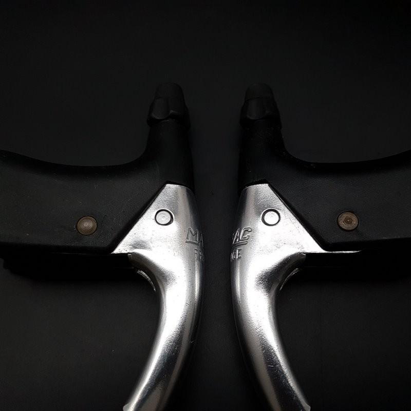 """Brake levers N. O. S """"MAFAC COURSE 130"""" (Ref 501)"""