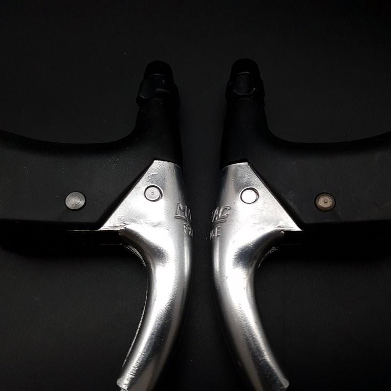 """Brake levers N. O. S """"MAFAC COURSE 130"""" (Ref 504)"""