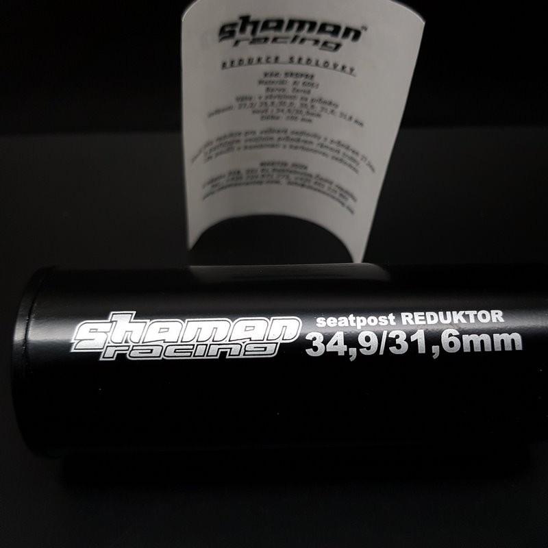 """Réducteur Tige de selle """"SHAMAN RACING 34.9/.1.6"""" N.O.S (Ref 01)"""