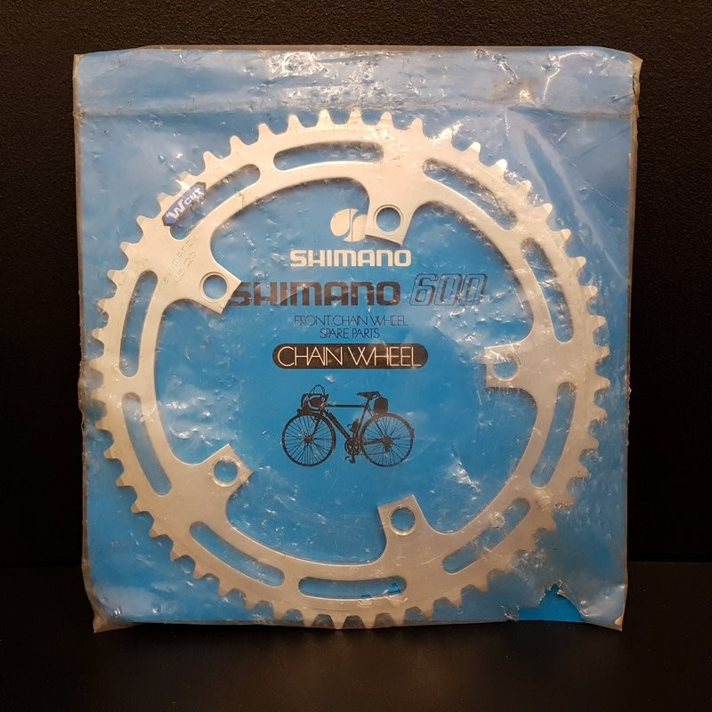 """Chainring N. O. S """"SHIMANO 600"""" 52d BCD 130 (Ref 944)"""