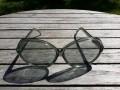 Vintage gafas gris Mujer