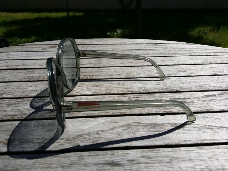 Vintage glasses grey Woman