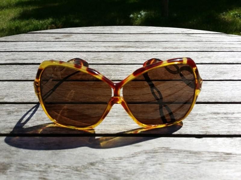 Vintage Damen Brille