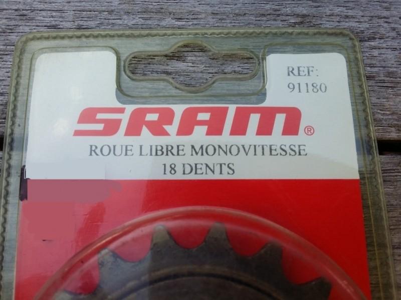 "Roue libre NOS ""SRAM"" 18d (Ref 02)"