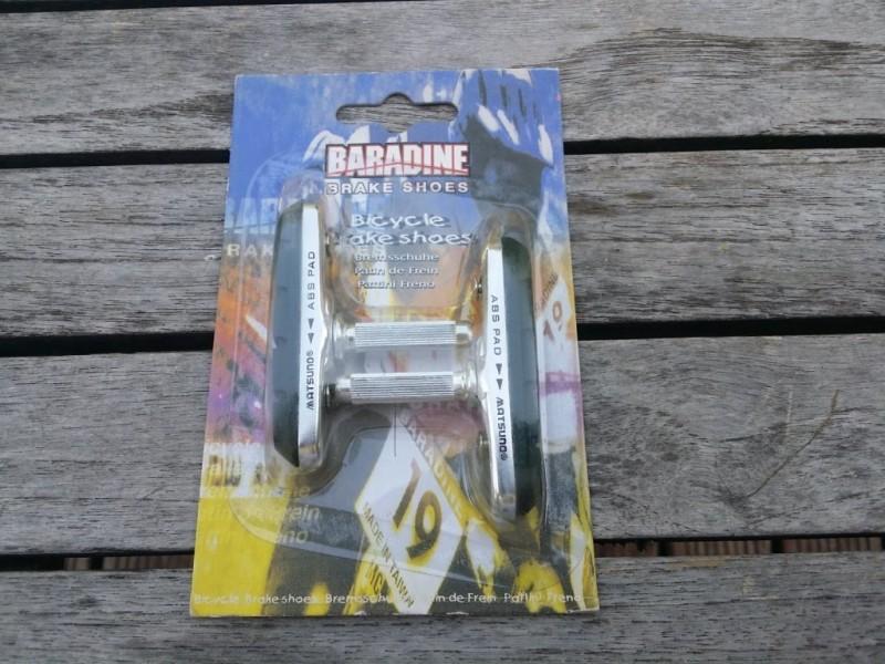 "Patins de frein ""Baradine "" à Tige (Ref 01)"