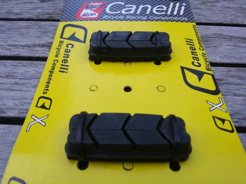 "Patins de frein CAMPAGNOLO ""Canelli"" (Ref 03)"
