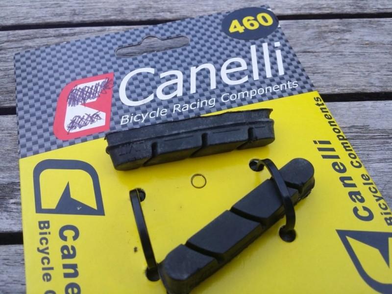 """Pastillas de freno CAMPAGNOLO """"Canelli"""" (Ref 03)"""