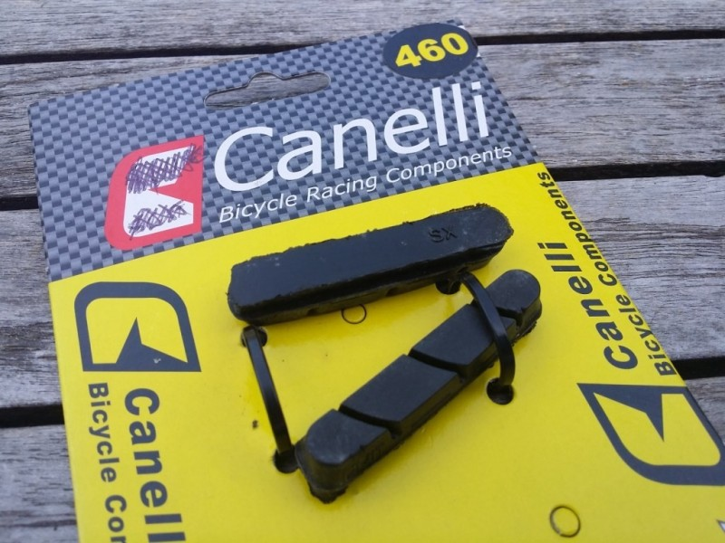 "Brake pads CAMPAGNOLO ""Canelli"" (Ref 03)"