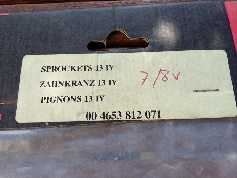 "Engranaje NOS ""Sachs IY"" 13d"