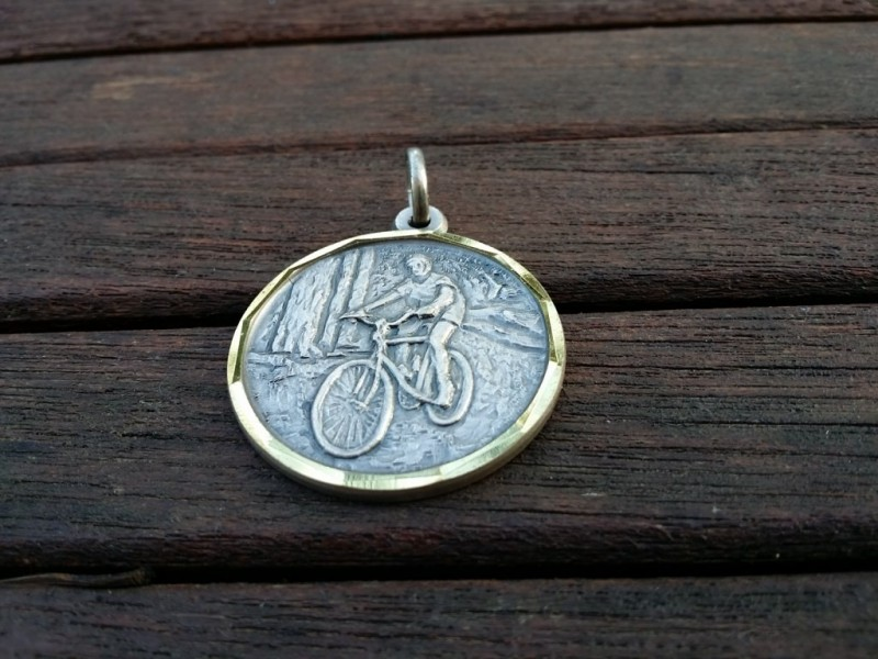 "Médaille ""Mountain Bike"" (Ref M02)"