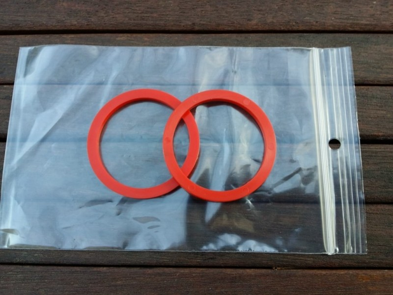 "Spacers Sachs Maillard ""MB red"" 3.6 mm"