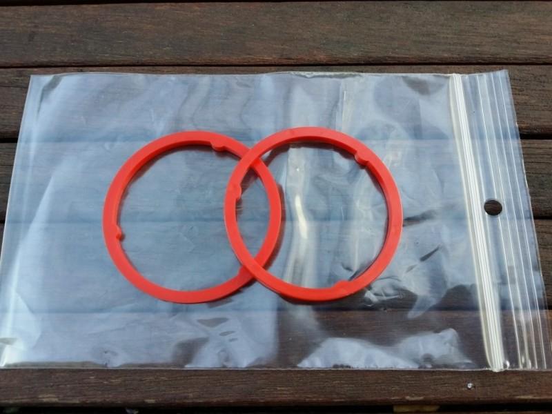 """Los espaciadores Sachs Maillard """"MI red"""" 3.6 mm"""