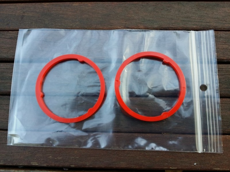 "Spacers Sachs Maillard ""MY red"" 3.6 mm"