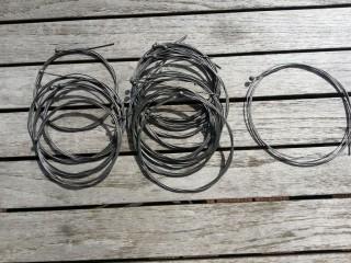 """NOS cable de frein Tranfil """"tête sphérique"""""""