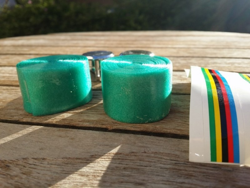 "Bar tape Co Union ""Type Benotto"" GREEN (Ref 02)"