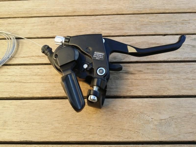 "Brake lever Left ""Shimano ACERA"" Triple (Ref 09)"