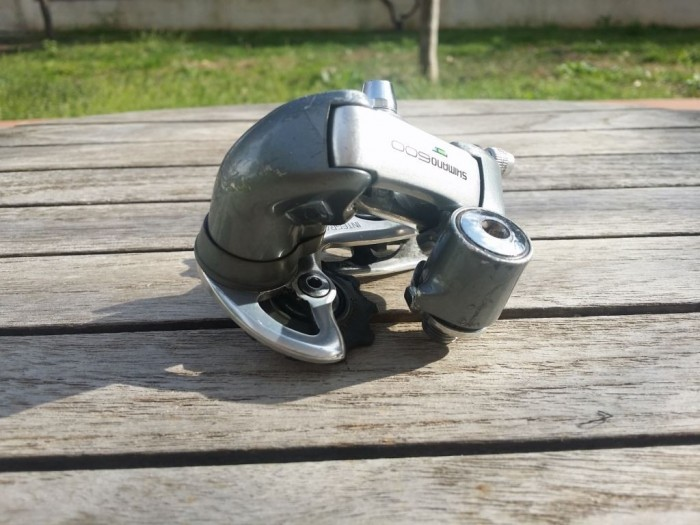 """Dérailleur arrière """"Shimano 600"""" 8v (Ref 29)"""