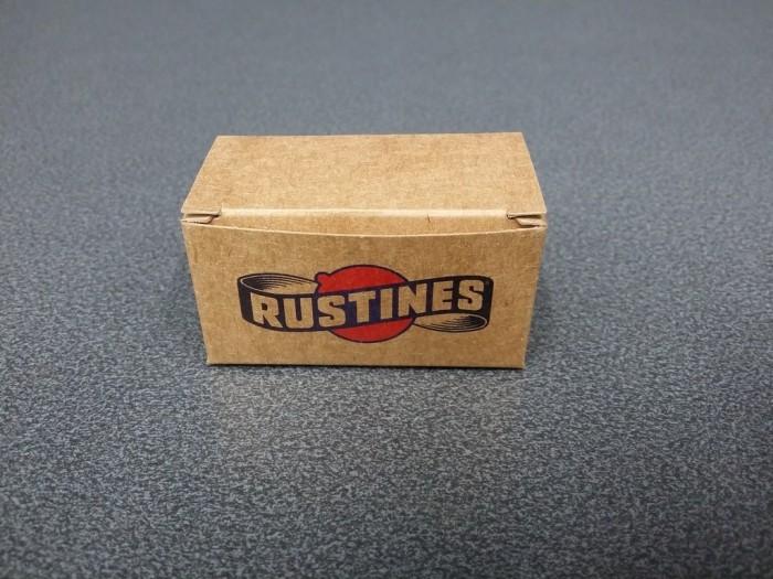 """Bouchons de guidon """"Rustines"""" Noir (Ref 02)"""