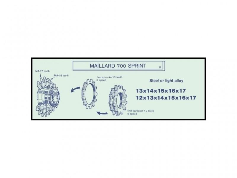 "Pignon NOS ""Maillard MB"" 20d"