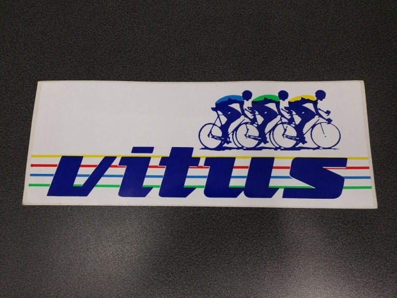 "Sticker ""VITUS Grand modèle"" OUR (Ref 02)"