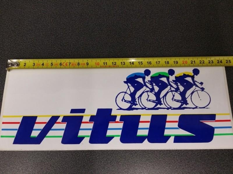 "Sticker ""VITUS"" Großes modell"" UNSEREN (Ref 02)"