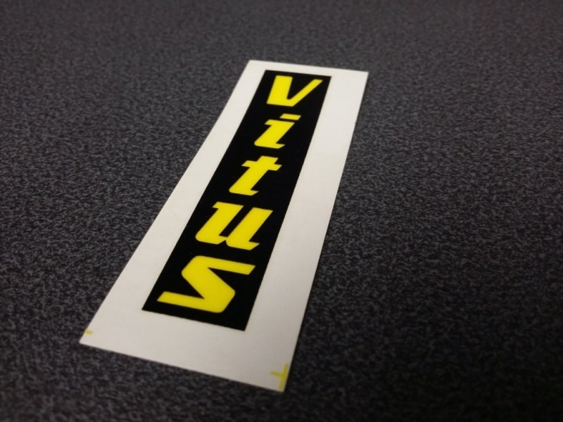 "Sticker ""VITUS"" NOS (Ref 05)"