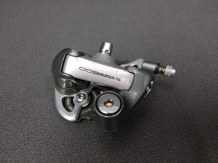 """Deragliatore posteriore Shimano 600"""" 8v (Rif 219)"""