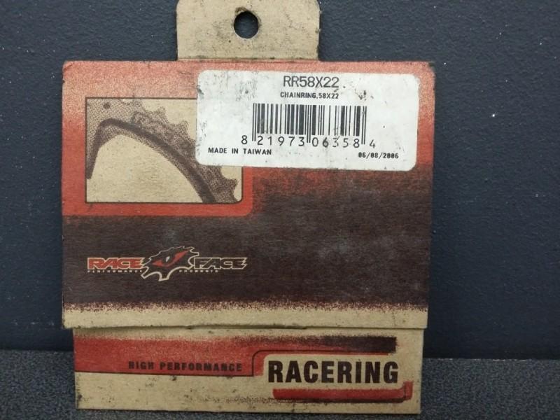 """Plateau NOS """"RACE FACE"""" 22d (Ref 71)"""