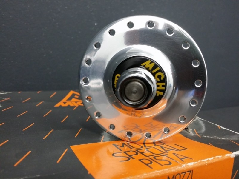 """Front hub on OUR """"MICHE PISTA"""" 36t (Ref 62)"""