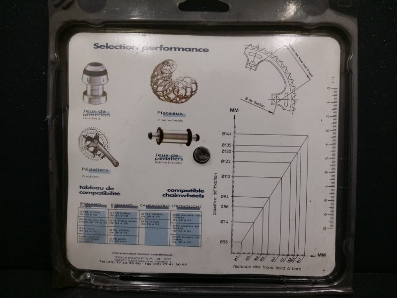 """Plateau NOS """"STRONGLIGHT"""" 32d BCD 74 (Ref 89)"""