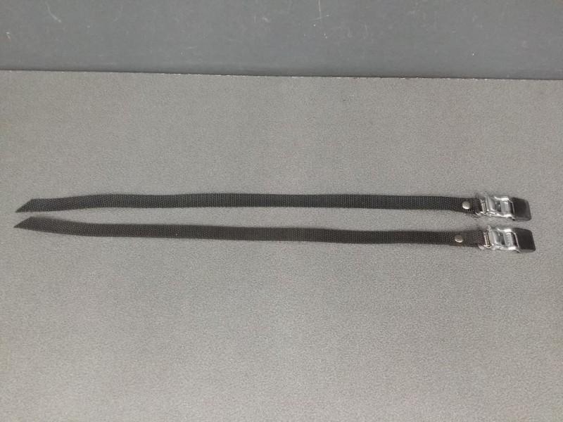 Correas de lona Negro (Ref 16)