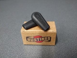 Embouts manettes de vitesses Rustines (noir)