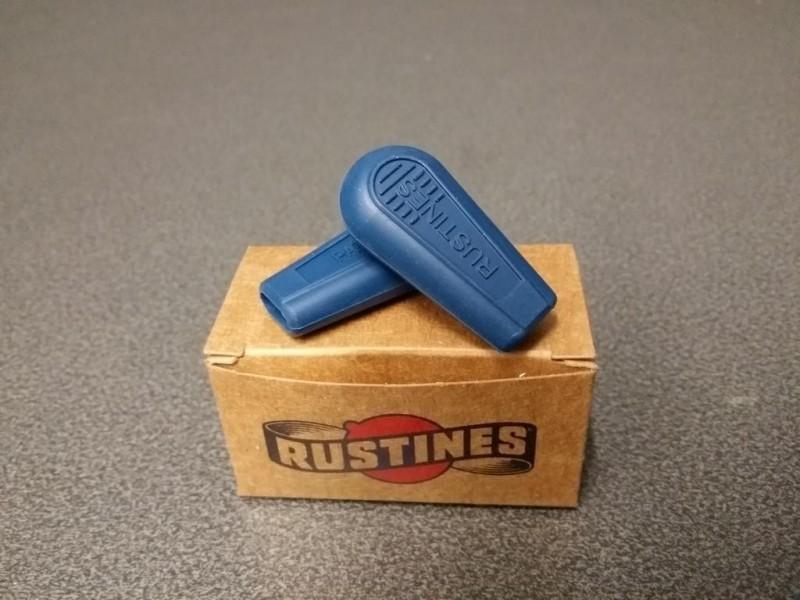 Embouts manettes de vitesses Rustines (Bleu)