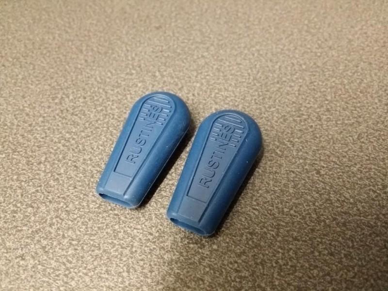Endkappen schalthebel Patches (Blau)