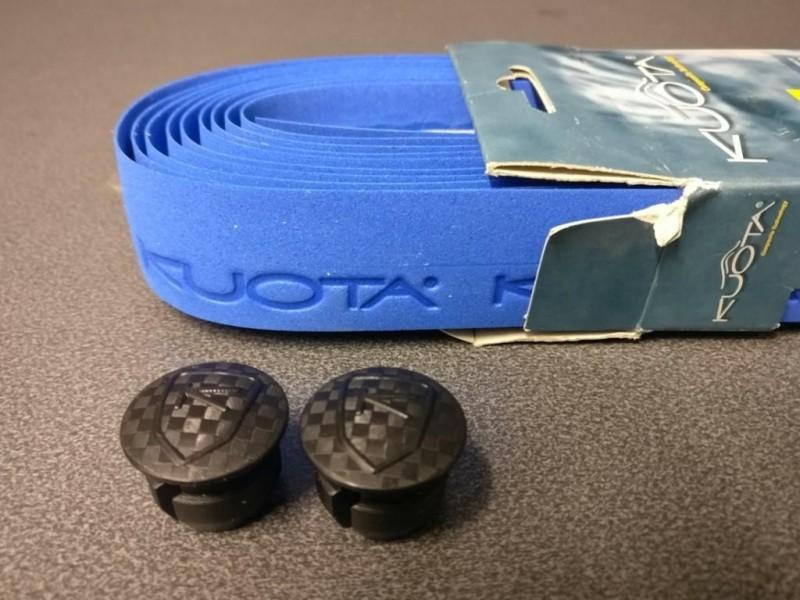 """Handlebar tape """"KUOTA"""" blue (Ref 17)"""