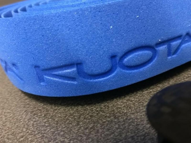 """Lenkerband """"KUOTA"""" blau (Ref 17)"""