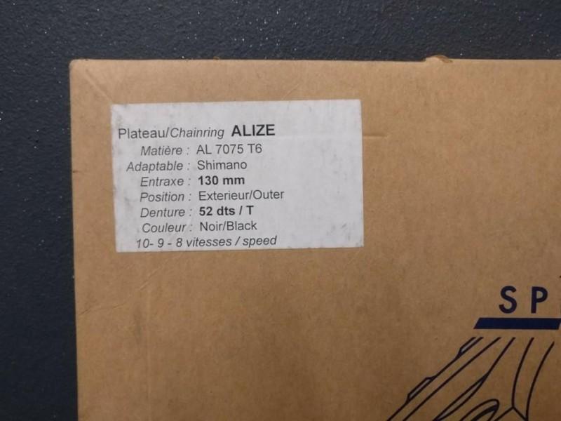 """Plateau NOS """"Spécialité TA ALIZÉ"""" 52d (Ref 203)"""
