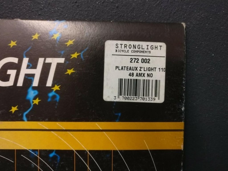 "Plateau NOS ""STRONGLIGHT Z-LIGHT"" 48d (Ref 217)"