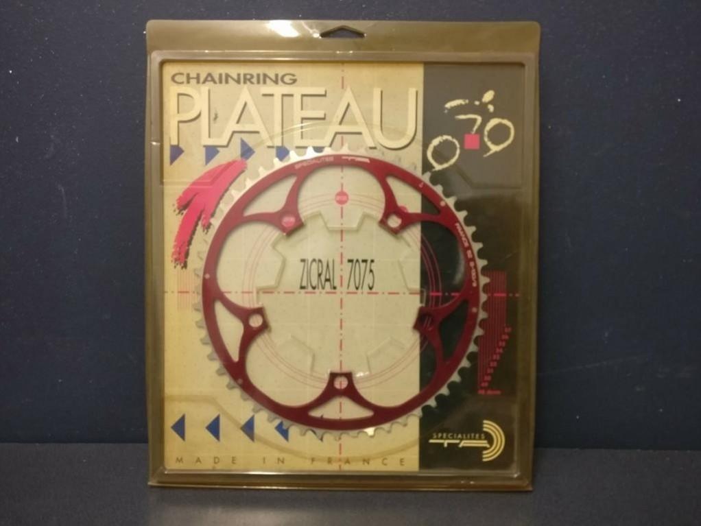 "Plateau NOS /""SHIMANO DURA ACE AX/"" 52d BCD 130 Ref 573"