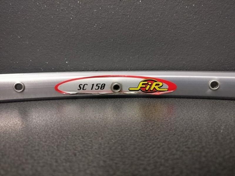 """Felge UNSEREN """"FIR SC150"""" 28t Grau"""