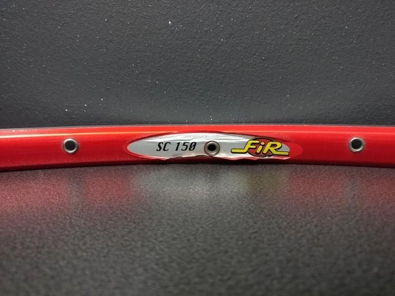 """Rim NUESTRO """"FIR SC150"""" 28t Rojo"""